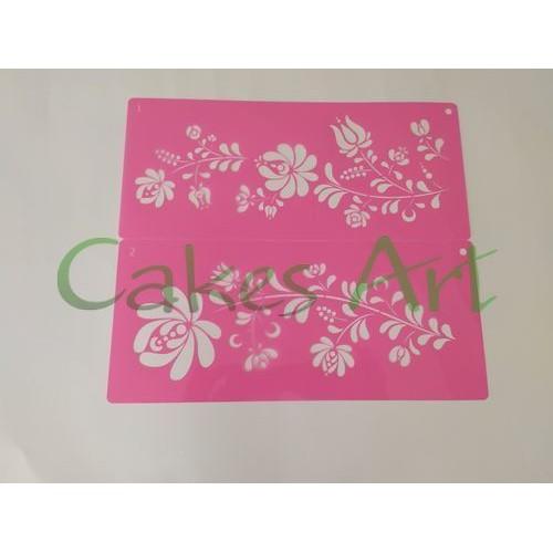Трафарет для торта и пряников: Узор 1