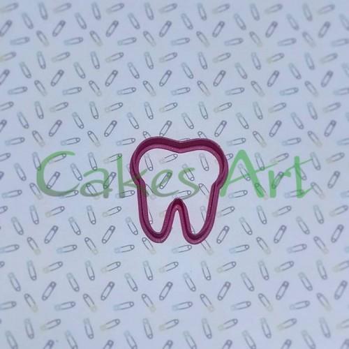 Вырубка для пряников: Зуб малый 6 см