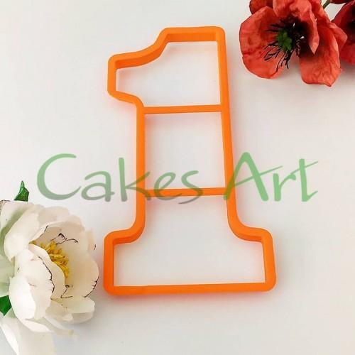 Набор форм для пряничного торта: Цифры Высота 20 см