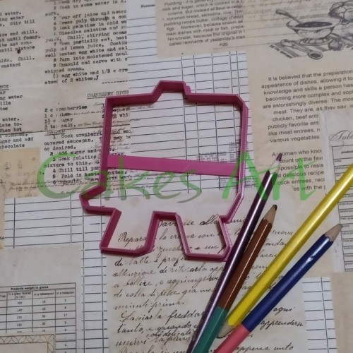 Вырубка для пряников: Школьная доска