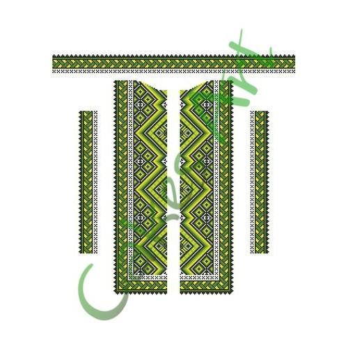 Вафельная сахарная картинка на торт Вышиванки Узоры Рушники 010