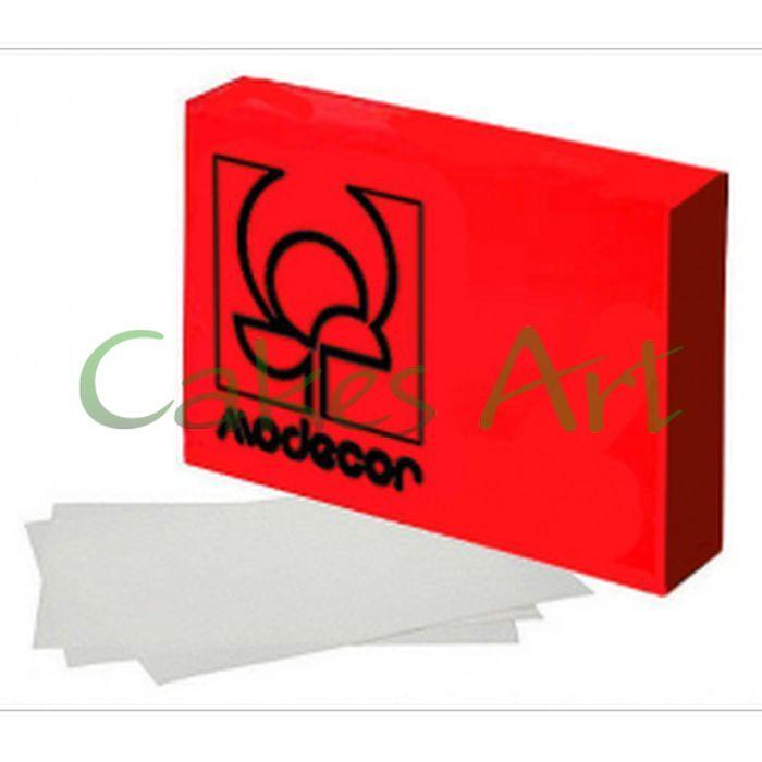 Вафельная бумага для вафельных цветов и декора Modecor 1 лист