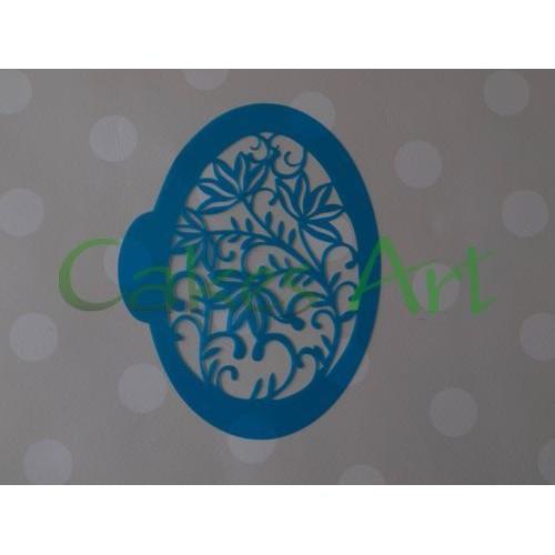 Трафарет для торта и пряников: Крашенка цветы