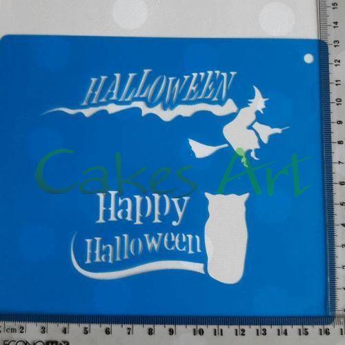 Трафарет для торта и пряников: Хеллоуин надписи 3