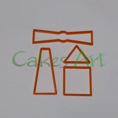 Набор форм для пряников  : 3 д Мельница