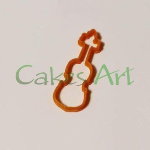 Вырубка для пряников: Скрипка малая