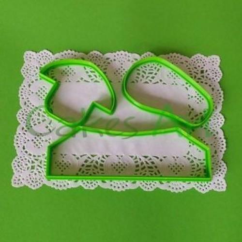 Набор форм для пряников  : 3д  Кроссовок для пряников и мастики
